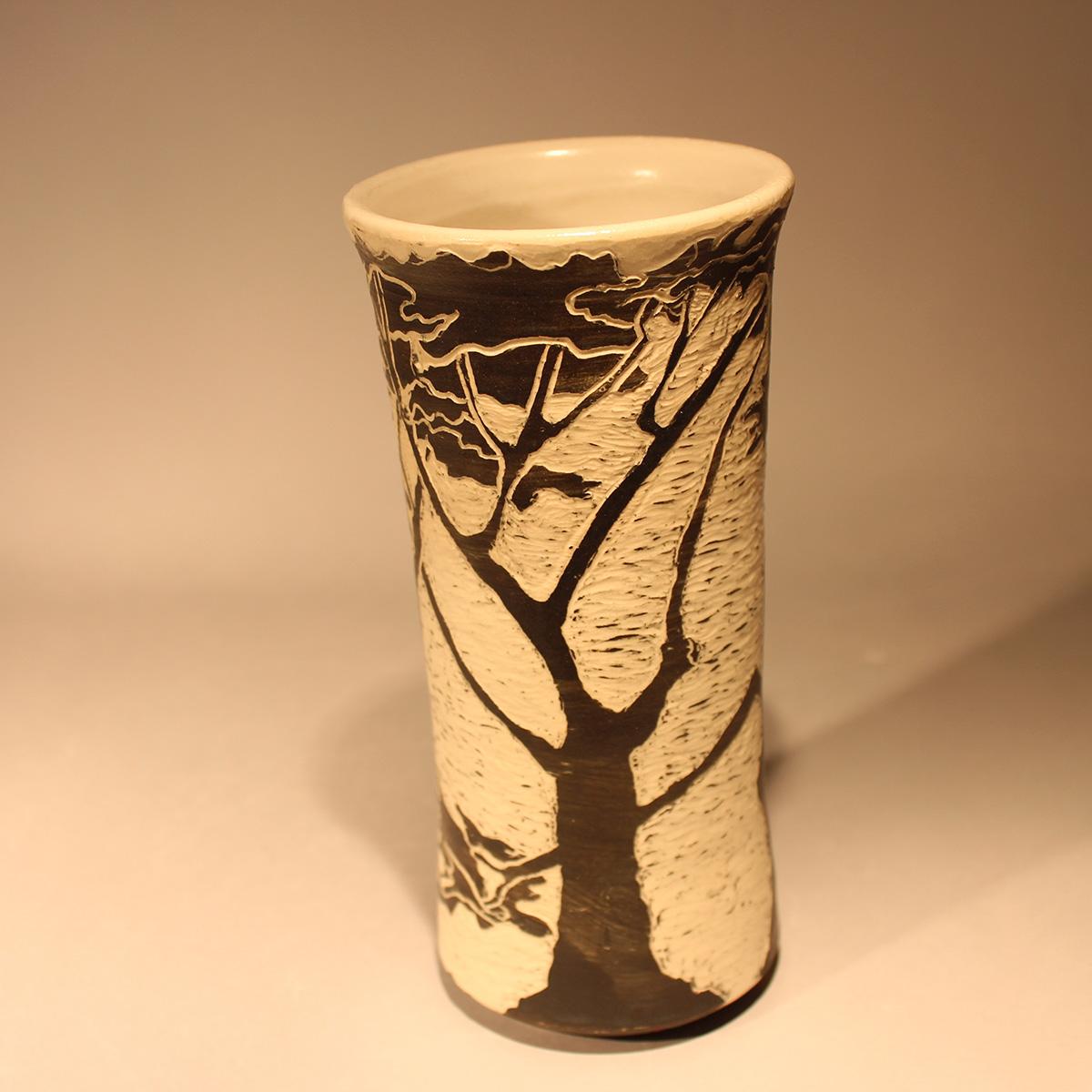 Cypress Tree Vase #1