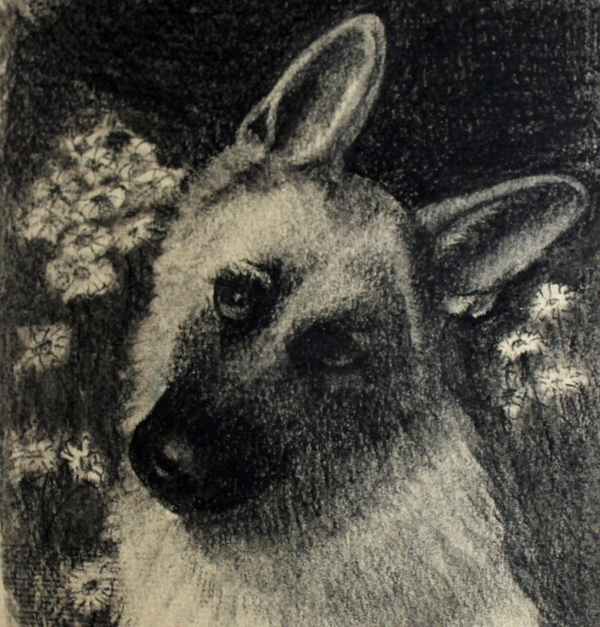 Sketch of a German Shepherd