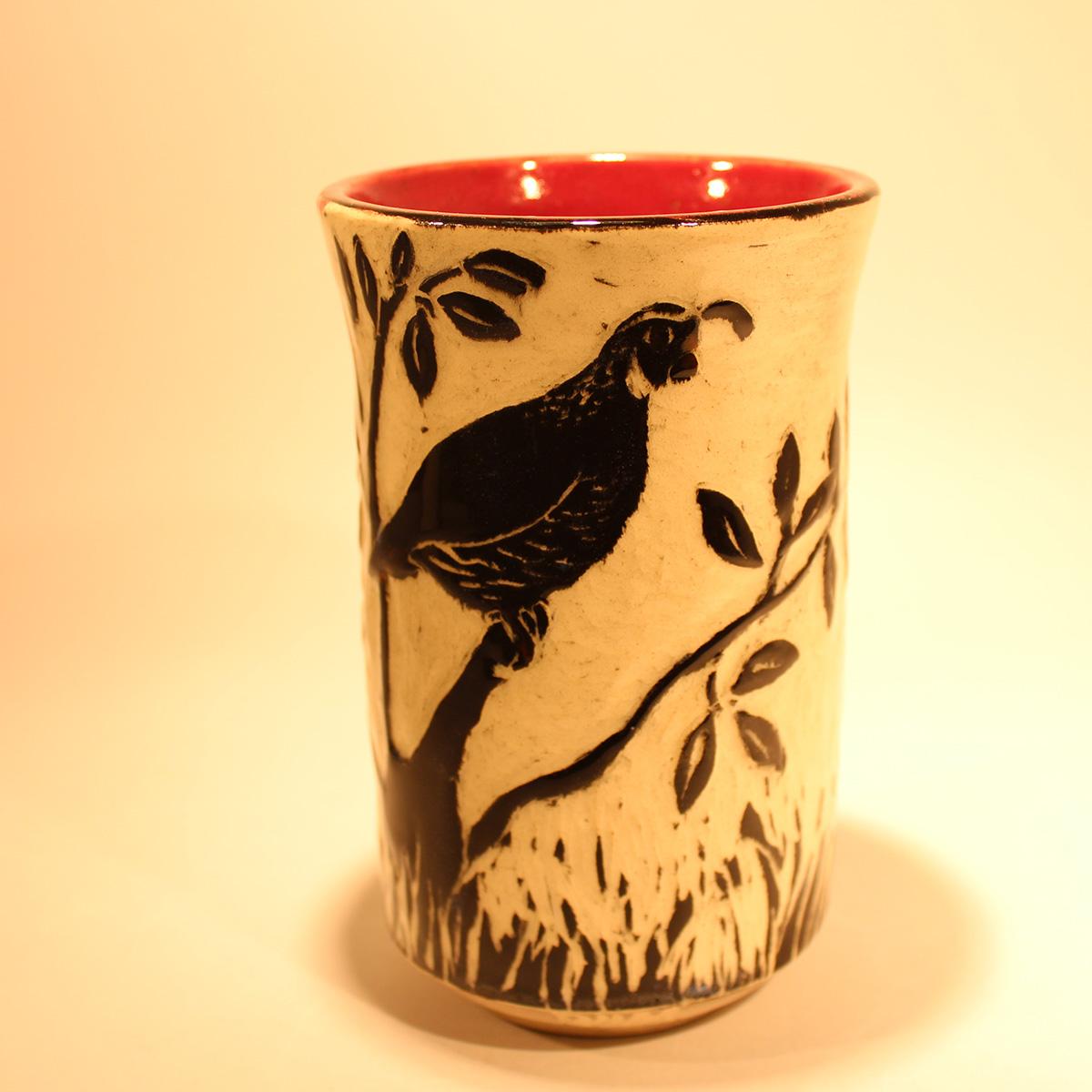 Quail Vase #1